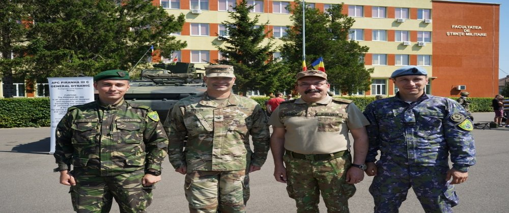 2CR participates in Sibiu static display